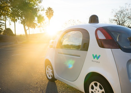 L'Ovetto di Waymo, ex Google Car © Waymo