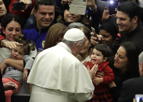 Papa a 'Bambin Gesù', mai più corruzione