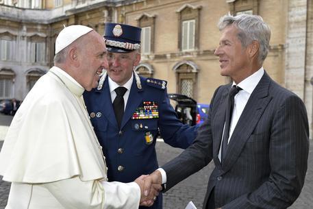 Claudio Baglioni in Vaticano: