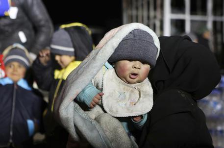 Bimbi ad Aleppo © AP