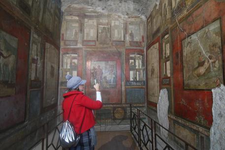 Pompei riapre la casa dei vettii arte for Sito web casa dei sogni