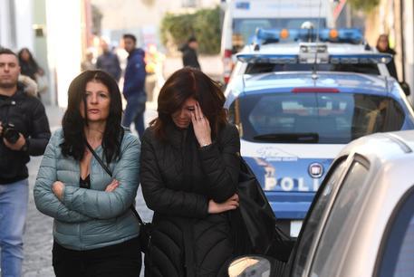Il luogo dell'omicidio-suicidio a Frattaminore © ANSA