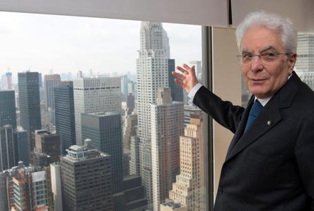 Mattarella a New York © ANSA