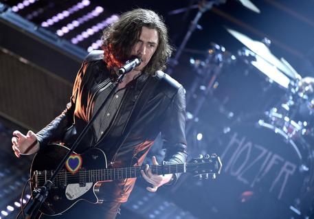 Hozier entusiasma Sanremo con Take Me To Church © ANSA