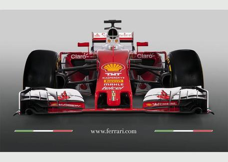 New Ferrari Formula One 'SF16-H' © EPA
