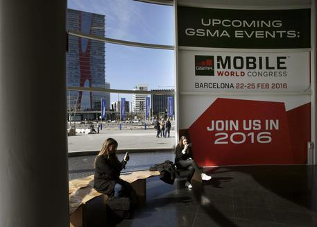 Mobile World Congress 2016 a Barcelona © ANSA