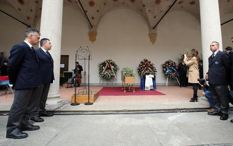 Umberto Eco's funeral in Milan © ANSA