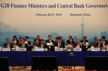 China G20 Finance Ministers and Central Bank Governors Meeting © EPA