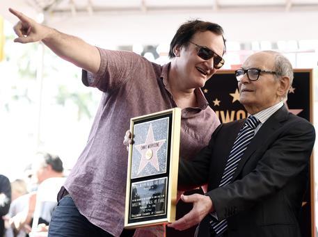 Ennio Morricone entra nella Walk of Fame