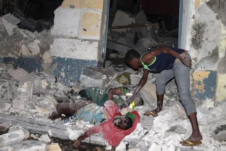 More than 10 killed in a Mogadishu attack © EPA