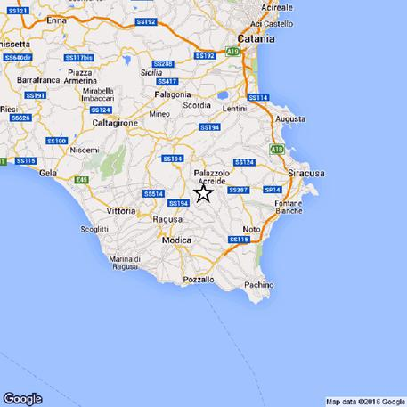 Terremoti nuova scossa sud est sicilia sicilia ansa ansa altavistaventures Image collections