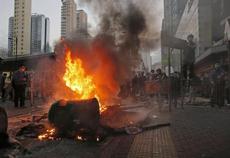 Hong Kong Protest © AP