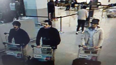 Gli attentatori di Bruxelles © AP