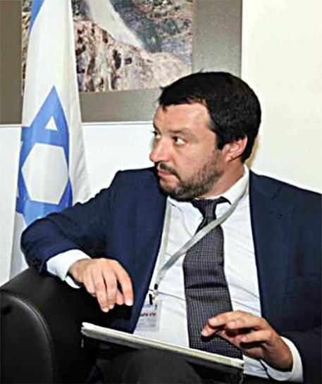 Risultati immagini per Salvini e Netanyahu immagini