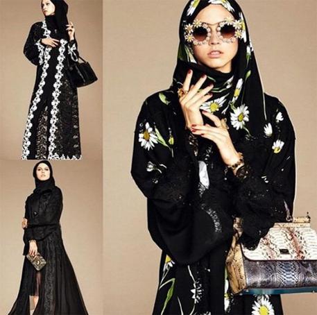Il. velo islamico proposto da Dolce&Gabbana © ANSA