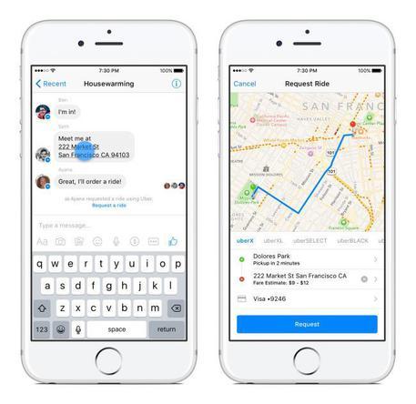 Facebook spinge uso Messenger dall'app