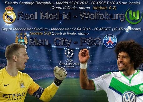 Gol Real Madrid-Wolfsburg 3-0 Video Highlights e Sintesi (Champions League)