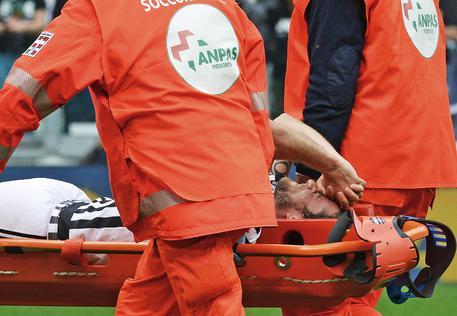 Juventus: serio infortunio per Marchisio contro il Palermo