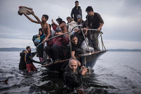 La foto di  Sergey Ponomarev, del New York Times © AP