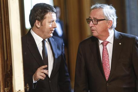 Juncker scrive a Renzi: