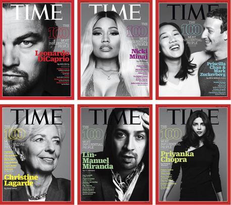 Time: tra i 100 più influenti DiCaprio, Elena Ferrante e Adele