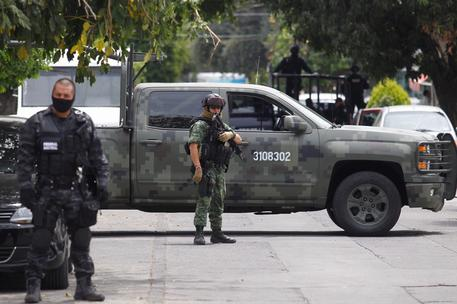 Mexican authorities detain the son-in-law of Jalisco Cartel leader [ARCHIVE MATERIAL 20160406 ] © ANSA