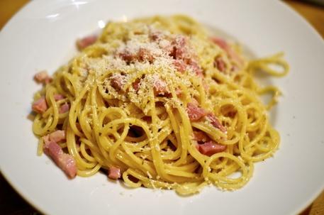 Un piatto di spaghetti alla Carbonara © Ansa