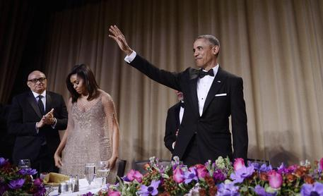 Lo scheletro di Barack Obama e le carote di Michelle. Il video