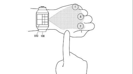 Samsung brevetto (CREDIT: United States Patent and Trademark) © ANSA