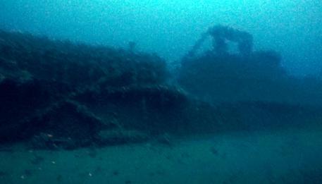 Trovato relitto sottomarino a Tavolara