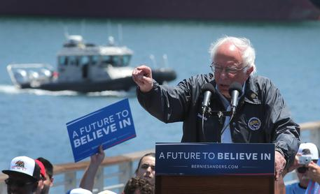 Usa 2016: Sanders sorpassa Hillary in California