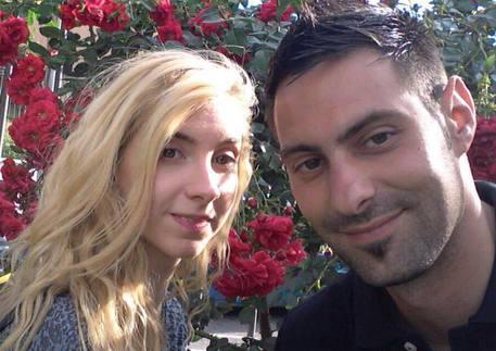 Sara e Vinenzo (foto dal profilo Fb di sara) © Ansa