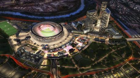 Stadio della Roma, nasce sito della Regione Lazio