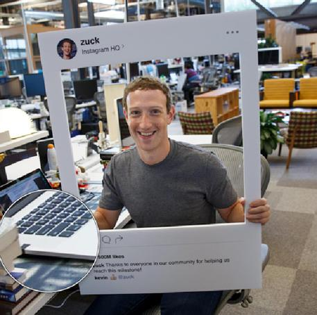 Mark Zuckerberg e lo scotch anti-hacker