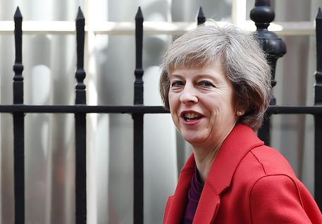 Theresa May in una foto d'archivio © EPA