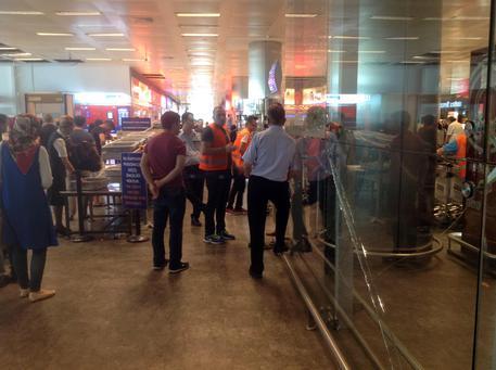 L'interno dell'Aeroporto di Istanbul © ANSA