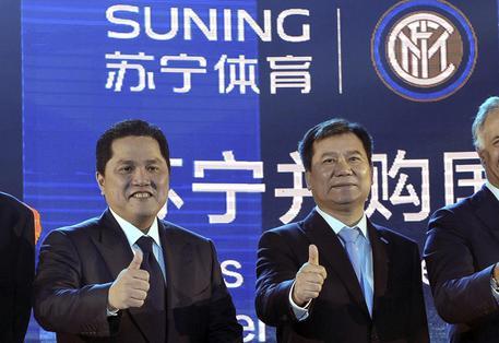 Suning Holdings Group-Inter, acquisita la maggioranza del club nerazzurro: il comunicato