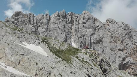 Terremoto in centro Italia: crollo parete Gran Sasso.