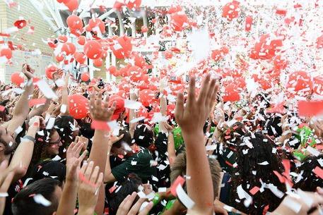 Il festival di Giffoni in una foto d'archivio © Ansa
