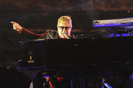 Campania, sir Elton John live a Pompei: diretta nazionale su Radio 2