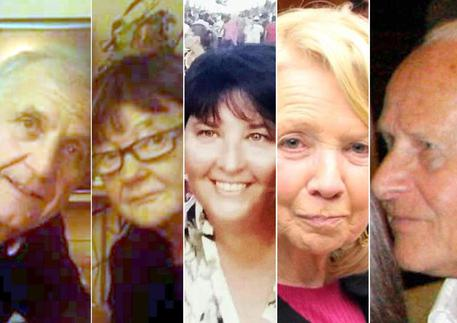 Italian victims (foto: ANSA)