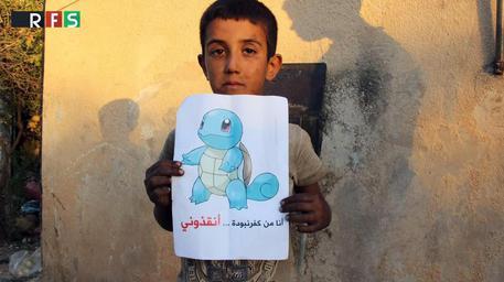 Bambini siriani: salvate noi, non i Pokemon