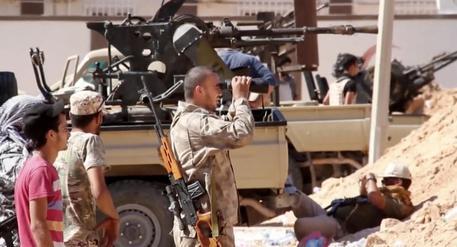 Risultati immagini per miliziani a sirte