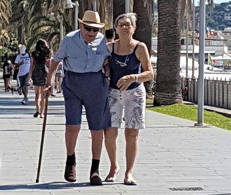 In vacanza al mare: a 108 anni