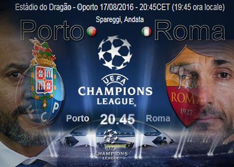 Porto-Roma preliminari Champions League: dove vederla in diretta TV e streaming