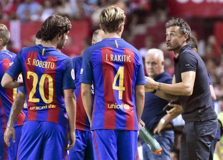 Supercoppa di Spagna, Siviglia-Barcellona finisce 0-2