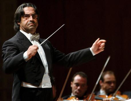 Il maestro Riccardo Muti in una foto d'archivio © ANSA