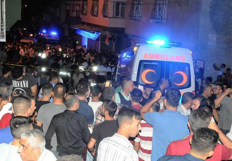 Turchia, bomba a ricevimento matrimonio © EPA