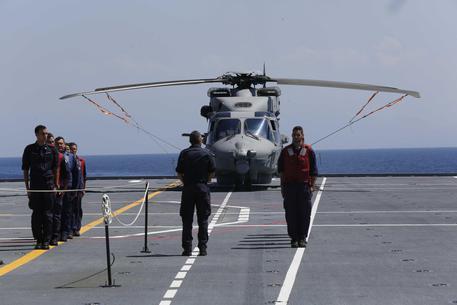 Garibaldi aircraft carrier © ANSA