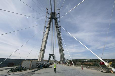 Bosforo, è italiano (Astaldi) il ponte sospeso più largo del mondo